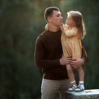 Папа и дочка :: Anna Lipatova
