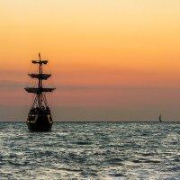 Морской пейзаж. :: Олег Бабурин
