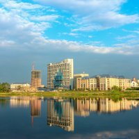 Челябинск.Набережная реки Миасс :: Александр