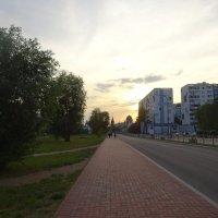 Дорога к стадиону чм в Калининграде :: галина