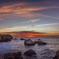 Восход на северном побережье Болгарии, :: Елена Маковоз