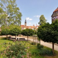 Сад перед  замком  Венцельщлосс :: backareva.irina Бакарева