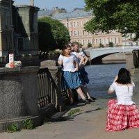 Фотосессия у моста :: ZNatasha -