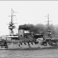"French battleship (ironclad) ""Marceau"", Toulon, 1902. :: Александр"