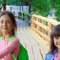 Маленькое путешествие по самому длинному  мосту из дерева, 555метров .г. Киржач. :: Любовь