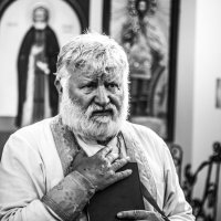 Священник :: Ежи Сваровский