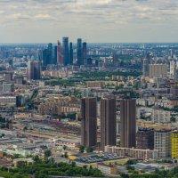 Москва из Останкино :: Павел © Смирнов
