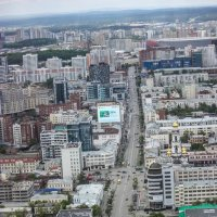 Екатеринбург с 52 этажа. :: Галинка
