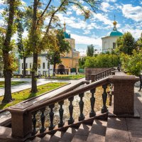 Церковь Космы и Дамиана и голуби :: Юлия Батурина