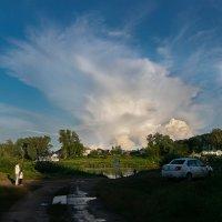 Облако над Гороховцом :: Марина Ломина