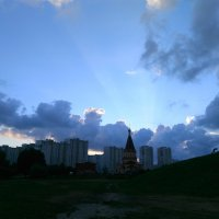 Летний закат в Братеево :: Аlexandr Guru-Zhurzh