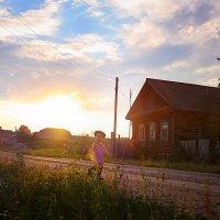 А в деревне клёво особенно летом... :: Ирина Лежнева