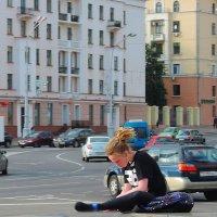 Сценка на площади :: Александр Сапунов