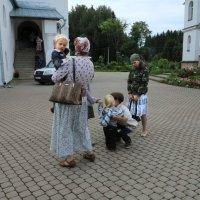 В монастыре. :: Наталья