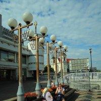 Терраса на Немиге :: Александр Сапунов
