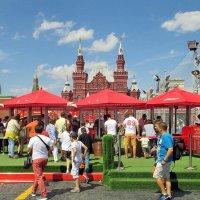 Москва в дни ЧМ-2018 :: Алла Захарова