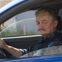 За рулём своего авто. :: Александр Кемпанен