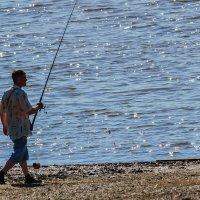 В поисках рыбного места. :: Виктор Иванович