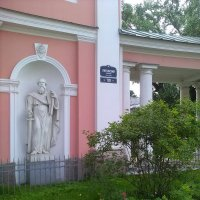 Цветы у Казачьего собора. (Санкт-Петербург). :: Светлана Калмыкова