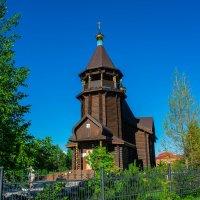 Церковь Петра и Павла п.Салым ХМАО-Югра :: Евгений Ветров