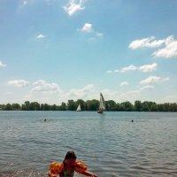 Эх и хорошо в жару на речке! :: Тамара Бедай