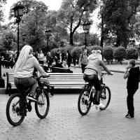 На велосипедах быстрее... :: Дмитрий Петренко
