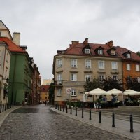 Дождливый день в Варшаве... :: Алёна Савина