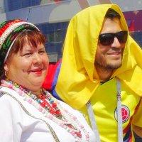 Фото на память. Эрзянка и колумбиец. :: Люба (Or.Lyuba) Орлова