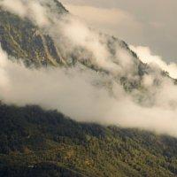Туманные альпийские вершины :: Константин Тимченко