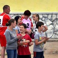 Мама, папа и я - спортивная семья. :: Андрей