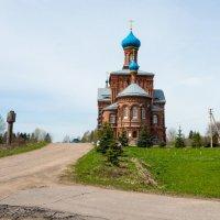 Церковь Николая Чудотворца и Георгия Победоносца. Смогири. :: Владимир Лазарев