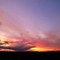 багряный закат :: Владимир