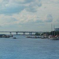 Панорама. У залива на Крестовском :: Владимир Колесников