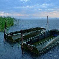 Лодки под ливнем :: Olcen Len