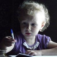 Баб, ручка не пишет. :: Светлана Рябова-Шатунова