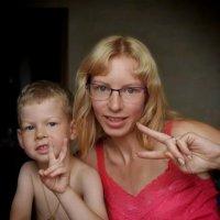 Мама с сыночком :: Януся Характерова