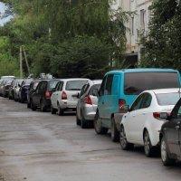 Когда нет гаража :: просто Борисыч