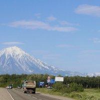 Вид на Авачинский вулкан :: Дмитрий Солоненко