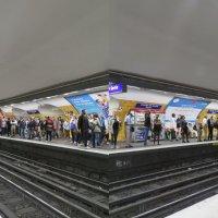 Метро Парижа. Станция Шарль де Голль :: ИРЭН@ .