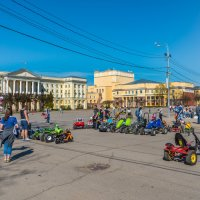 Смоленск. Площадь Ленина, 1-го мая. :: Владимир Лазарев