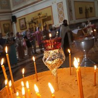 1000 лет горит свеча :: irina Schwarzer
