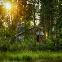 Дом на болоте :: Анжела Пасечник