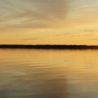 Белое море. Закат :: Елена Павлова (Смолова)