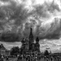 Облака над Москвой :: Алексей Поляков