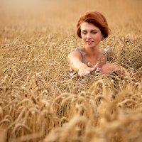 По волнам пшеничным :: Аля Ворошкевич