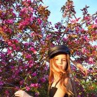 Моя Елизавета в цветущих садах :: Анастасия Грошева