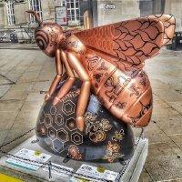 Пчела - символ Манчестера :: Сергей Беличев