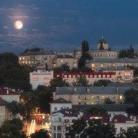 Лунное затмение 27.07.2018 начало. Севастополь. :: Mihail Mihaylov