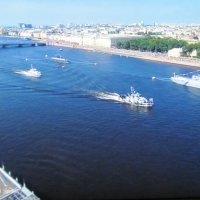 Парад в честь ВМФ. Петербург :: Маера Урусова