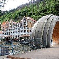 Сочетание еще советской архитектуры с современной :: Eugine Sinkevich